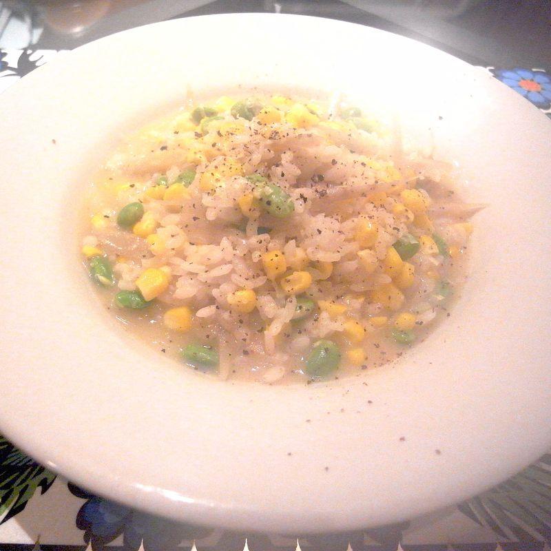 20120710_枝豆の展開 risotto al soia acerbi e granturco_RIMG9656E-1